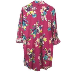 Lauren Ralph Lauren Intimates & Sleepwear - LAUREN RL Floral Print Cotton Blend Sleep Shirt SM